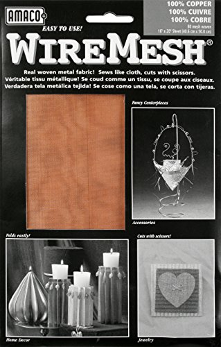 American Art Clay WireMesh #80 16x20 - Copper Arts Crafts