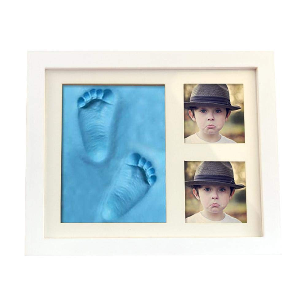 Home Photo Holder Handprint mud Suit Baby Photo framegift Hand and Foot Mold Hand and Foot Ink pad