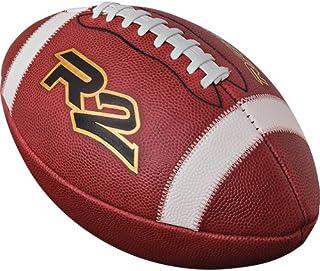 Rawlings R2Cuir Football Officielle, Marron Rawlings Sporting Goods R2FB-B