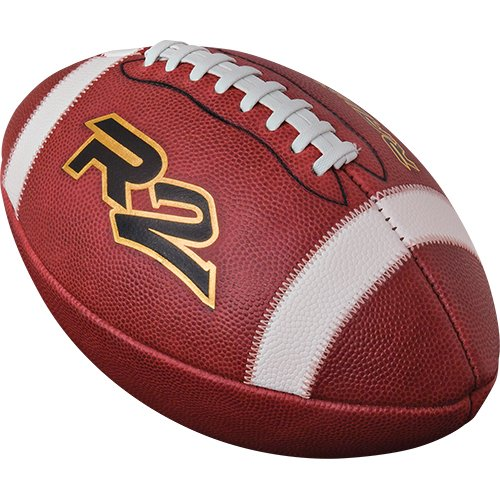 - Rawlings  R2 Leather Football Official, Brown