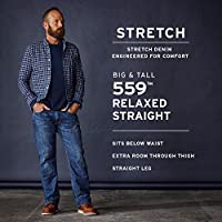 Levi's Men's Big and Tall Big & Tall 559 Relaxed Straight-Leg Jean