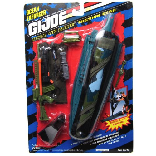 Mission Gear Joe Gi (G.I. Joe Hall of Fame Ocean Enforcer Mission Gear for 12