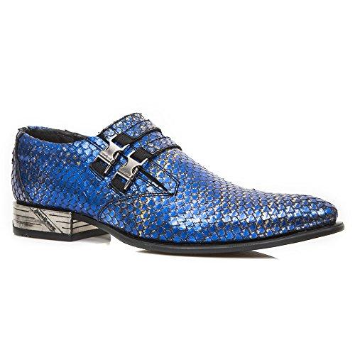 New Rock Newman Bleu Chaussures M.2288-S3
