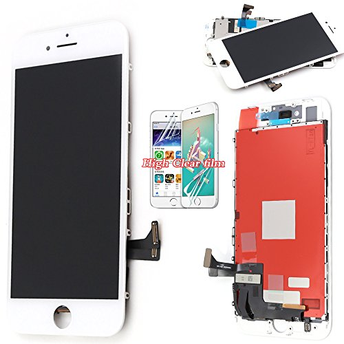 For iPhone 8 Screen Replacement – White – LCD Premium Complete Repair Kit with Tools