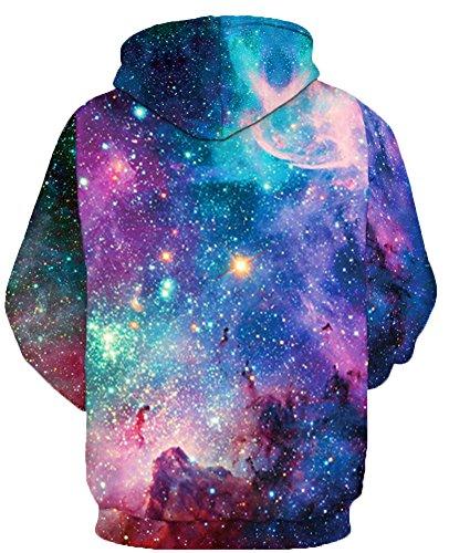Capuche Hoodie Homme Tdolah Unisex Pull Sweatshirt Sweats Multicolore Etoiles Patterned Les À Prints 3d x qtCpw