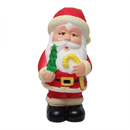 Slow Rebound Santa Claus Doll Toy Slow Rising Soft Squishies Descompresión Juguetes Parking Caja Grua Muelle