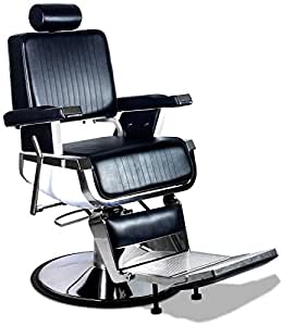 """Truman"" Professional Vintage Reclining Hair Salon Hydraulic Barber Chair"