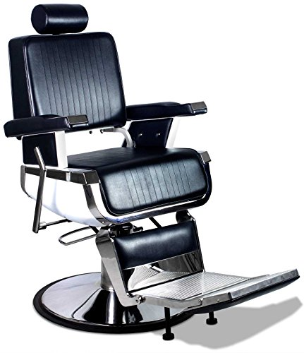 'Truman' Professional Vintage Reclining Hair Salon Hydraulic Barber Chair