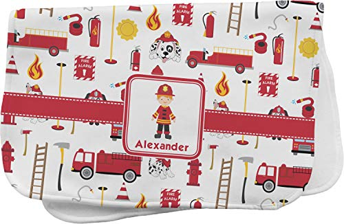 Firefighter for Kids Burp Cloth (Personalized) -