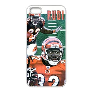Cincinnati Bengals iPhone 4 4s Cell Phone Case White persent zhm004_8484802