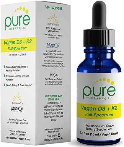 Vegan D3 + K2