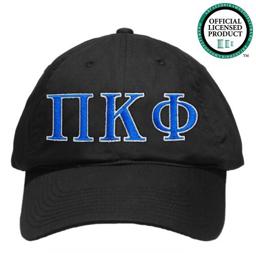 Pi Kappa Phi (Pi Kapp) Embroidered Nike Golf Hat, Various Colors