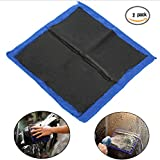 "Clay Bar Microfibre Mitt Auto Car Cloth Towel Wash Mill Mud Cloth Detailing Cleaning Cloth 12""x12"" (Pack of 2)"