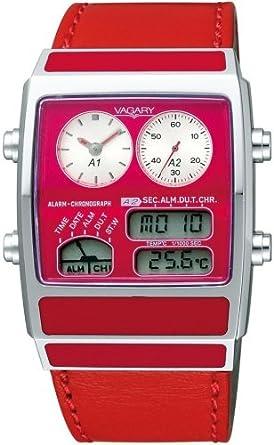 fdbf58aa4b Amazon | [バガリー]VAGARY 腕時計 クロノグラフ VN2-011-90 レディース ...