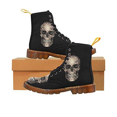 Leinterest Skull Martin Botas Zapatillas De Moda Para Mujer