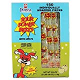 Product Of Sour Power Belts, Wrap Green Apple, Count 150 - Sugar Candy / Grab Varieties & Flavors