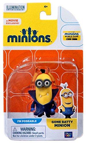 Minions Movie - Gone Batty Minion Mini Figure (20219) (Minions Name)