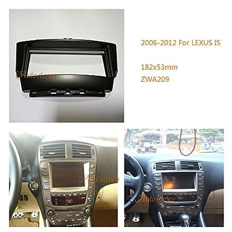 autostereo Radio estéreo Dash CD Trim Kit de instalación marco de instalación de radio de coche ES embellecedor de radio para radio de coche Panel ...