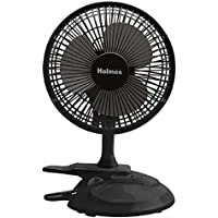 Holmes Convertible Desk & Clip Fan, Black HCF0611A-BM