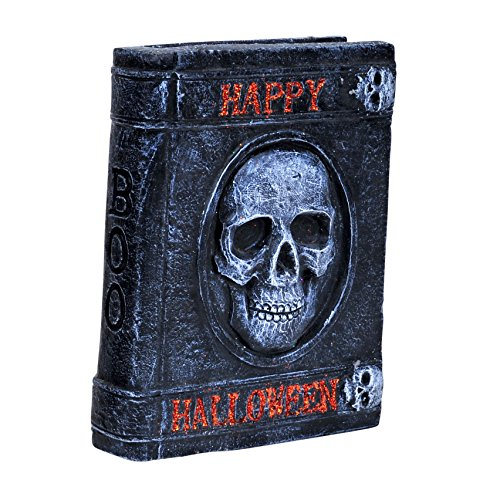 Halloween Table Decorations Party Scary Skull Stone Book 5