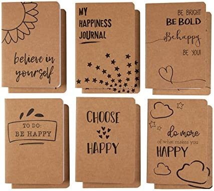 Kraft Notebook Bulk Different Happiness product image