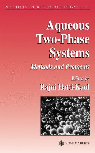 Two Aqueous Systems Phase (Aqueous Two-Phase Systems: Methods and Protocols (Methods in Biotechnology))