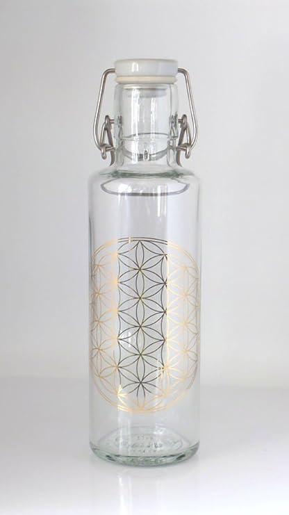 Botella de cristal Soulbottle, varios diseños, fabricada en ...