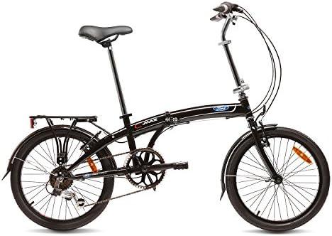 Ford C-MAX Bicicleta Plegable, Unisex Adulto, Negro, 20