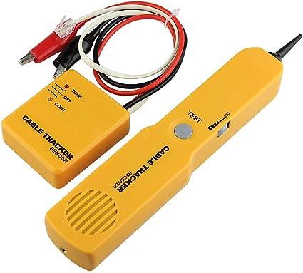 BMOT Portable Network del telefono del telefono del tester del cavo del toner Wire Tracker Tracer diagnosticare Finder Tone Linea Per Reti Telefoniche RJ11 RJ45 Cavo Testerk per Cavi Telefonici