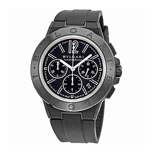 Bvlgari Diagono Magnesium Automatic Chronograph Mens Watch 102428