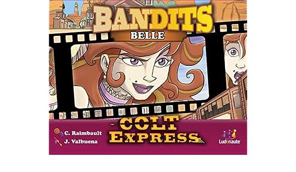 Asmodee- Colt Express: Bandits Pack Belle Expansion en Castellano, Color (LUCOEX05NA): Amazon.es: Juguetes y juegos