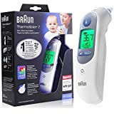 St. Lun Braun Thermoscan 7 IRT6520 Thermometer + Bonus ThermoScan Lens Filters Infrared Non-Contact Thermometer Digital…