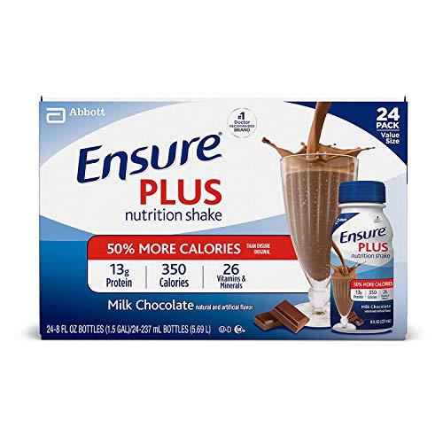 Ensure Plus Creamy Milk Chocolate Shake (8 oz. bottle, 24 pk.) (pack of 2)