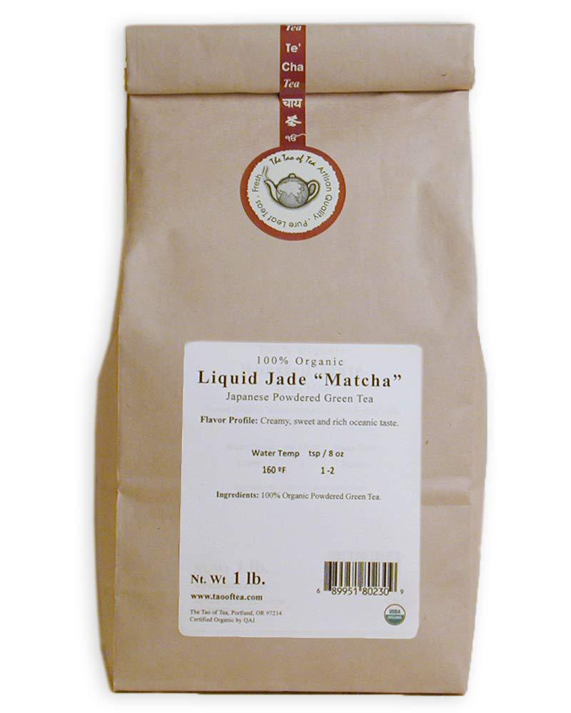 The Tao of Tea Liquid Jade Matcha, 1-Pounds by The Tao of Tea