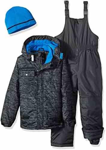 iXtreme Boys' Tonal Print Snowsuit With Gaiter