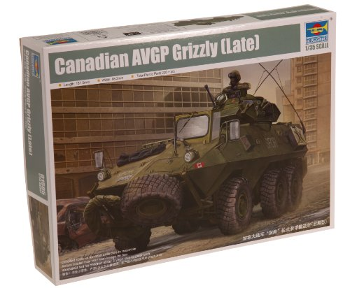 Trumpeter 1/35 Canadian Grizzly 6x6 Late Armored Personnel Carrier ()