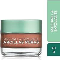 Mascarilla exfoliante, Arcillas Puras, L'Oréal Paris, 40 ml