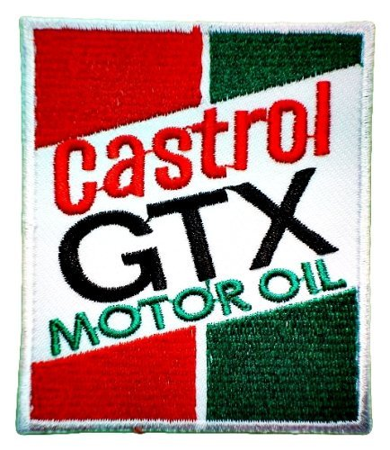 CASTROL GTX Lubricant Oil Bikes Motors Cars Racing Team C...