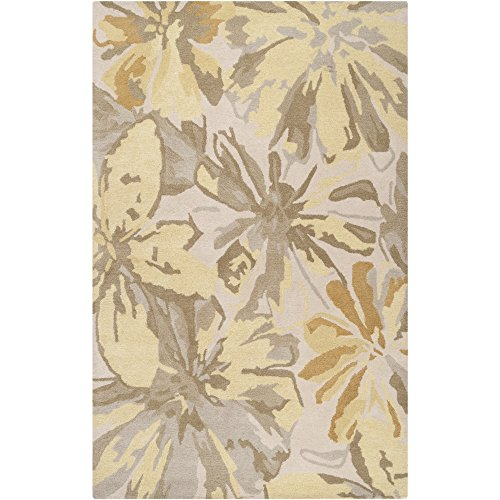 Surya Athena ATH-5071 Contemporary Hand Tufted 100 Wool Ivory 5 x 8 Abstract Area Rug