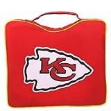 NFL Lightweight Stadium Bleacher Seat Cushion with Carrying Strap, Kansas City Chiefs