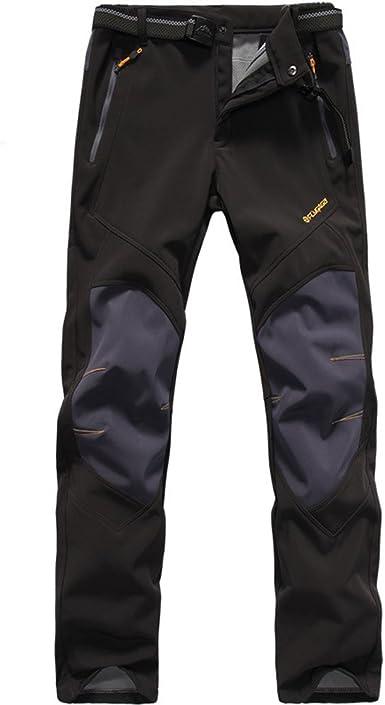 Noir Homme moderne Casuals Outdoor Pantalon Imperméable Pantalon Pantalon M