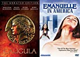 Emanuelle in America & Caligula (The Unrated Edition) Cult Erotic 2-movie Bundle