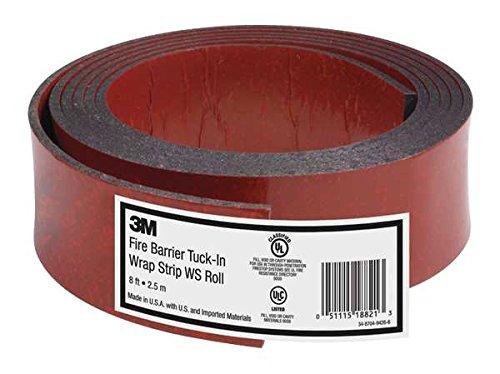 3M Fire Barrier Tuck-In Wrap Strip WS ROLL, 8.2 ft - 3m Fire Wrap