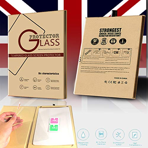 FINDING CASE Fusion5 104 10.1 Tablet Premium Tempered Glass Screen Protector Film Cover 9H Hardness Anti-Scratch Bubble-Free Ultra Clear