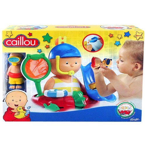 Caillou Playset for Bathtime