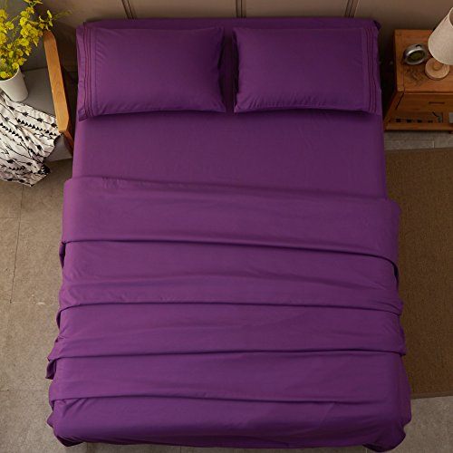 sonoro kate sheets super soft microfiber 1800 thread count. Black Bedroom Furniture Sets. Home Design Ideas