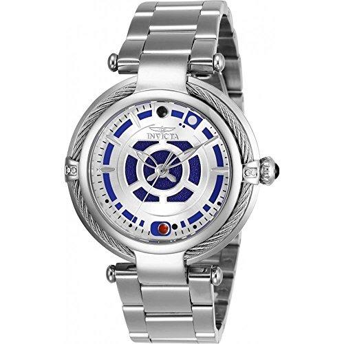 Invicta Women's 26234 Star Wars Quartz Multifunction Silver Dial Watch