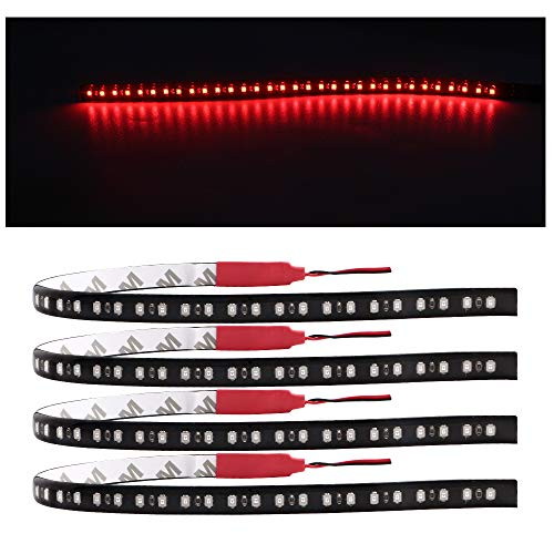 EverBright 4-Pack Red LED