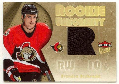 (Brandon Bochenski (Hockey Card) 2005-06 Fleer Ultra Rookie Uniformity # RU-BB Jersey)