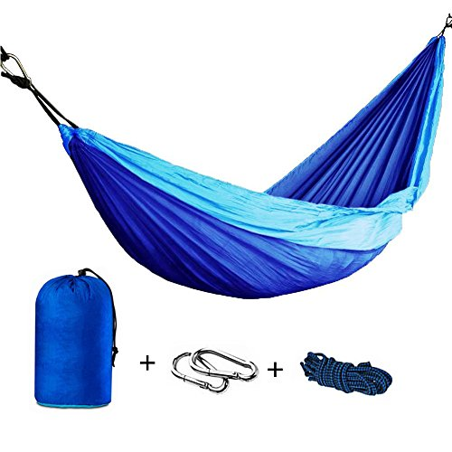 Price comparison product image Foho Camping Parachute Silk Double Hammock